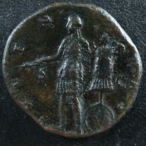 Marcus Aurelius Sestertius 140-144 Juventas Rome RIC 1233b Marc Aurèle sesterce