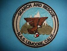 NAVY PATCH  SAR ANGELS SEARCH & RESCUE NAVAL AIR STATION LEMOORE, CALIFORNIA