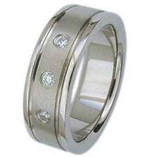 Cubic Zirconia Wedding Rings for Men