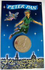 PETER PAN COIN TINKERBELL GIBRALTAR 2002 FAIRYTALE CUPRO NICKEL ELIZABETH II