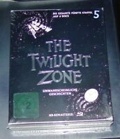 THE TWILIGHT ZONE DIE GESAMTE STAFFEL 5 HD REMASTERED BLU RAY IM SCHUBER NEU