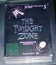 The Twilight Zone the Entire Season 5 HD Remastered Blu Ray in Slipcase New