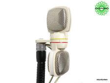 GRUNDIG / SENNHEISER GDSM-202 Vintage Stereo Dynamic Microphone 60's 2 x XLR