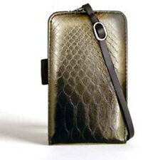 Miamica Deluxe Pew Python Pda Cell Phone Case Wallet Id Card Iphone Blackberry