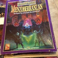Menzoberranzan Forgotten Realms Boxed Book Set Advanced Dungeons & Dragons ed 2