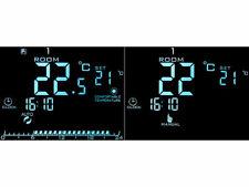 Wand Thermostat für Fußbodenheizung, LCD, Touch Tasten, programmierbar