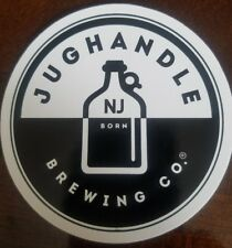 Jughandle Brewing Company Craft Beer Brewery sticker Tinton Falls New Jersey
