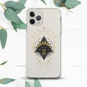 Sacred Mystic Geometry Occult Eye Case For iPhone 7 8 X SE 11 12 13 Pro Max XR