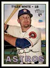 2016 Topps Heritage HN Tyler White RC SP #710 Houston Astros
