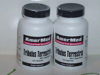 TRIBULUS TERRESTRIS 1250mg MALE TESTO MALE ENHANCEMENT 180 CAPSULES 2 BOTTLES