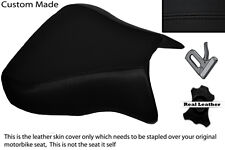 BLACK STITCH  CUSTOM FITS APRILIA RSV 01-03 TUONO 04-05 1000 FRONT SEAT COVER