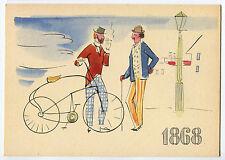 LA STORIA DELLA BICICLETTA, 1^ SERIE I PIONIERI, GUILMET 1868, BY PIRELLI    m
