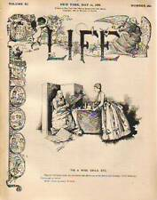 1888 Life May 10-Fuller to the Supreme Court;Yale Sport