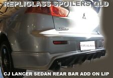 MITSUBISHI LANCER CJ SEDAN REAR BAR ADD ON  DIFFUSER VRX EVO