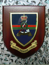Regimental Plaque / Shield - Royal Pioneer Corps