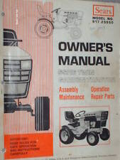 917.25950- Sears Suburban SS/16 Tractor Owners Manual on CD