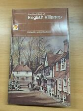 """1980 """"THE SHELL BOOK OF ENGLISH VILLAGES"""" ILLUSTRATED HARDBACK BOOK"""