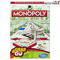 Hasbro Family Gaming Grab And Go Monopoly Travel Game Hasbro