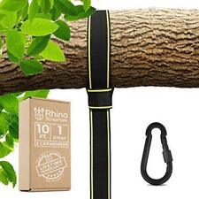 Tree Swing Strap Hanging Kit – 10Ft Strap, Holds 2800 Lbs (Sgs Certified), Fas