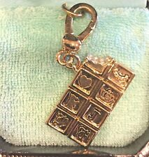 2005 JUICY COUTURE CHOCOLATE BAR CHARM! EXTREMELY RARE!!!! TAGGED