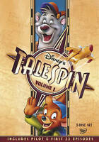 TaleSpin DISNEY DVD Volume 1 (2013) (3-Disc Set) 4 Ep. Pilot & First 23 Episodes