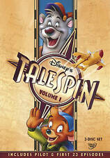 TaleSpin - Volume 1 DVD 2013, 3-Disc Set Disney TV Jungle Book Baloo SEALED NEW!