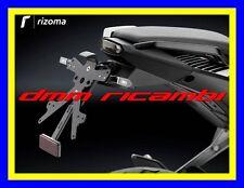 Kit Portatarga RIZOMA FOX KTM DUKE 125 390 regolabile luce targa con sottocodone