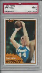 1981 Topps Basketball #11 Dan Issel - PSA 9
