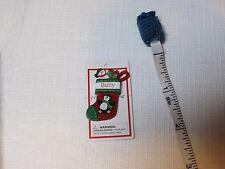Itsy Bitsy Stocking Ornament name Betty mini Ganz personalized Christmas gift