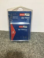 Iomega Zip Disk 750MB for  PC & MAC New Sealed