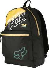 FOX MENS KIDS YOUTH BACK PACK FLECTION BLACK SKATE SCHOOL OVERNIGHT LUGGAGE
