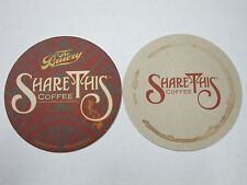 Beer COASTER ~^~The BRUERY Share This Coffee ~ Orange County, CALIFORNIA Brewery