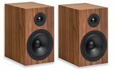 Pro-ject Speaker Box 5 S2 Walnut 1 Pair Bookshelf Loudspeakers 8 Ohm 150 Watt