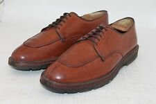 Faconnable by Allen Edmonds Chili Brown Oxford Made in USA 8 D AMAZING Vibram