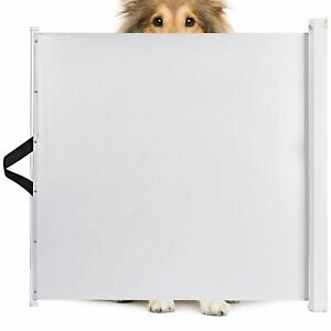 Animals Favorite Pet Retractable Safety Gate, Indoor and Outdoor Protection