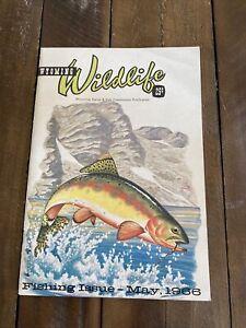 May 1966 Wyoming Wildlife Magazine Wyoming Game & Fish Comm. Publication VG