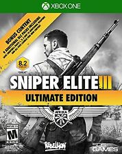 NEW Sniper Elite III Ultimate Edition - Xbox One