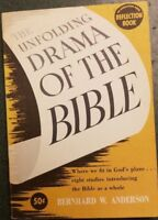 The Unfolding Drama of the Bible by Anderson Reflection book 1957 pb