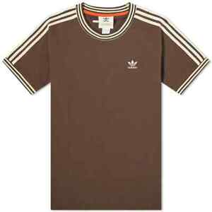 ADIDAS X WALES BONNER GRAPHIC TEE BROWN