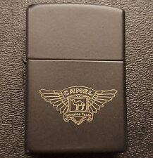 Zippo 1994 Camel Emblem Genuine Taste Gold Logo Black Matte Lighter Unstruck