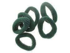 Medium Ponios Hair Elastics Hair Bands Hair Accessories - Bottle Green