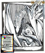 Breygent World of Fantasy Sketch Z-Card by Jason Flowers