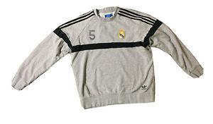 FC Real Madrid Men's Adidas Soccer Sweatshirt Size Large