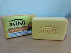 LEVER AYUSH Ayurvedic purifying Turmeric skin soap