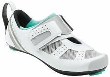 New Womens Louis Garneau Tri X-Speed Iii Triathlon Cycling Shoes 1487260 White