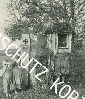 Piding in Bayern : Totenbretter - Brauchtum  - um 1920     Z 18-25