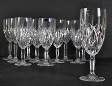 "Lot of 12 Waterford Marquis Markham Champagne Wine Glasses 8-1/2"" Tall 3"""
