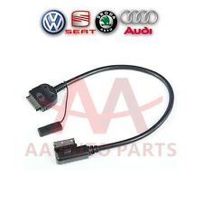 Audi AMI MMI MEDIA-IN Interface Adaptor Cable for iPhone iPod iPad