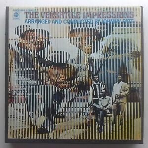 The Impressions - The Versatile Impressions 4 track 3 3/4 STEREO - ABCS-668