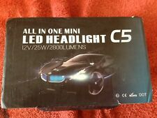 C5 AutoLED Headlight 12V/25W/2800Lumens